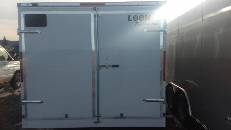 2019 Look Trailers 8.5x16 10K Cargo/Enclosed Trailer