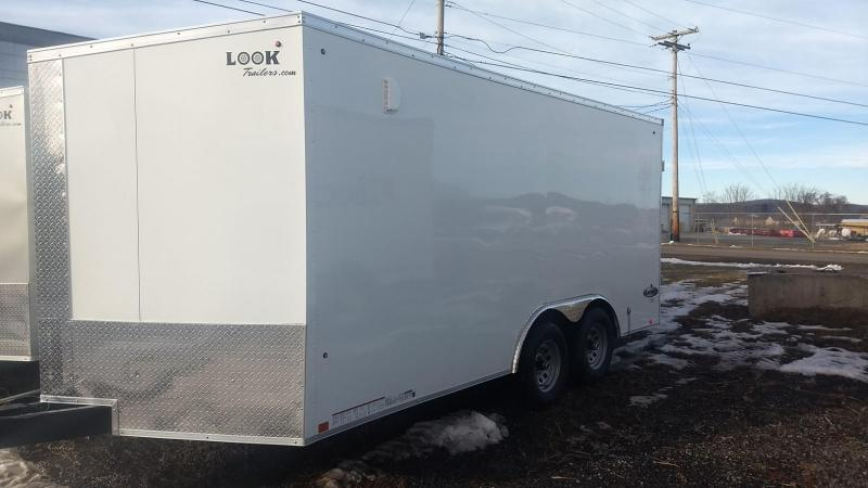 2019 Look Trailers 8.5x16 10K Cargo/Enclosed Trailer