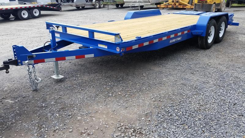 2019 Sure-Trac 7x20 Super Ramp Equipment Trailer in Pittsburg, NH