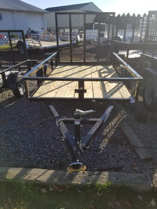 2018 Holmes 5x8 Open Side Rail Utility Trailer