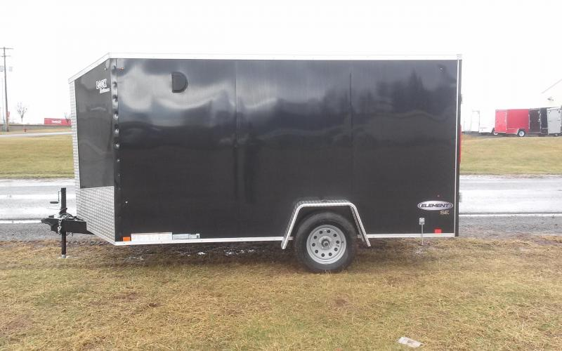 2018 Look Trailers 7x12 Element SE Enclosed Cargo Trailer in Ashburn, VA