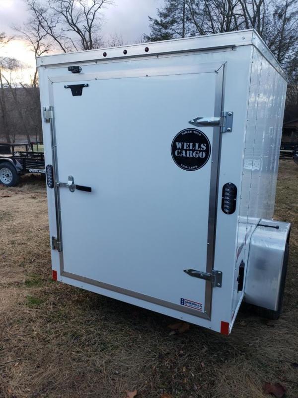 2019 Wells Cargo 5x8 Fast Trac Enclosed Cargo Trailer