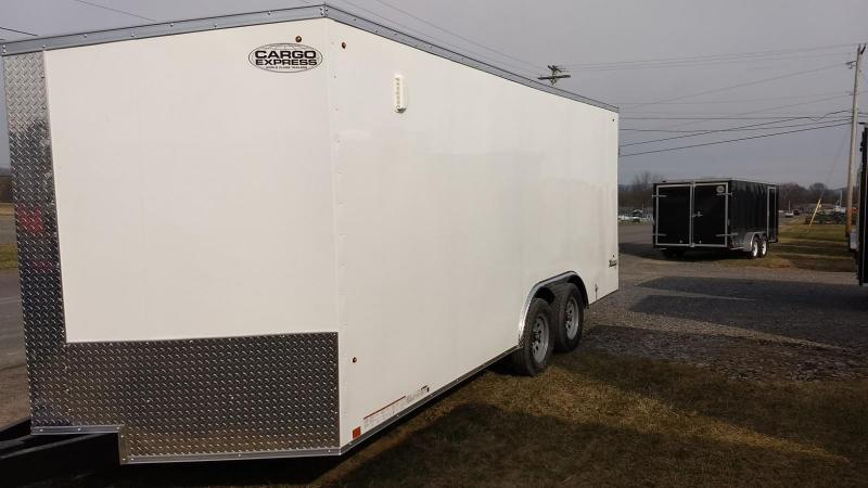 2020 Look Trailers 8.5x18 7K Cargo/Enclosed Trailer