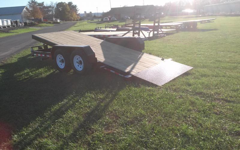 2019 Sure-Trac 7x18 tilt deck equipment trailer