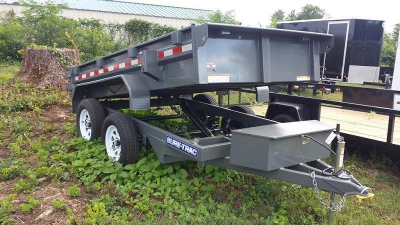 2018 Sure-Trac 5x10 Low Profile Dump Trailer