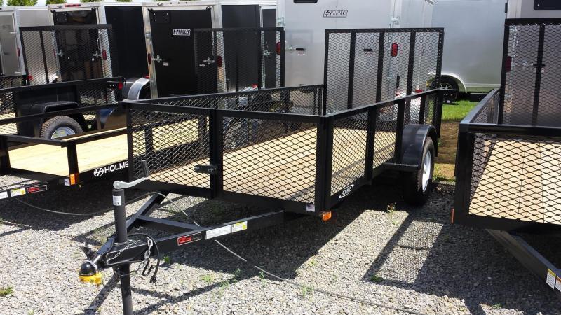 2018 Holmes 5x12 Mesh Side Utility Trailer
