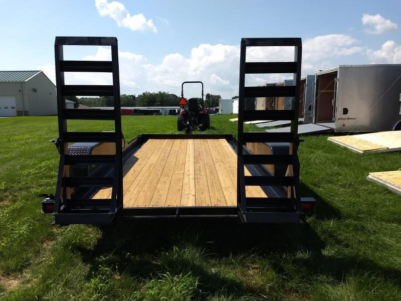 2019 Sure-Trac 7x14 14K Skid Steer Equipment Trailer | New
