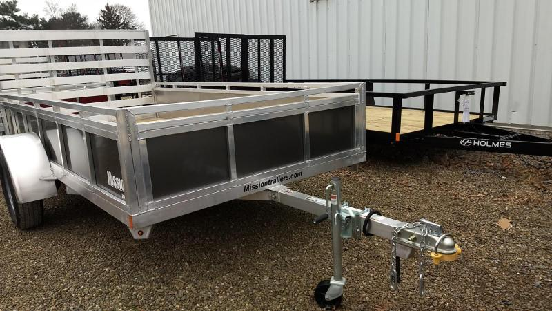 2019 Mission 6x12 Solid Side Aluminum Utility Trailer