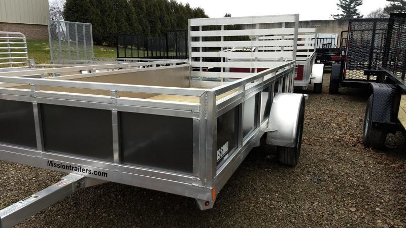 2019 Mission 6x12 Solid Side Aluminum Utility Trailer in Ashburn, VA