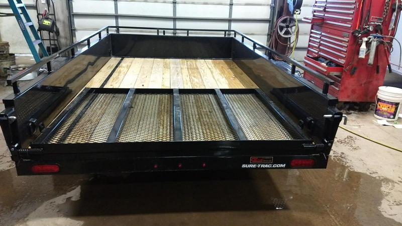 2019 Sure-Trac 6x10 High Side Utility Trailer
