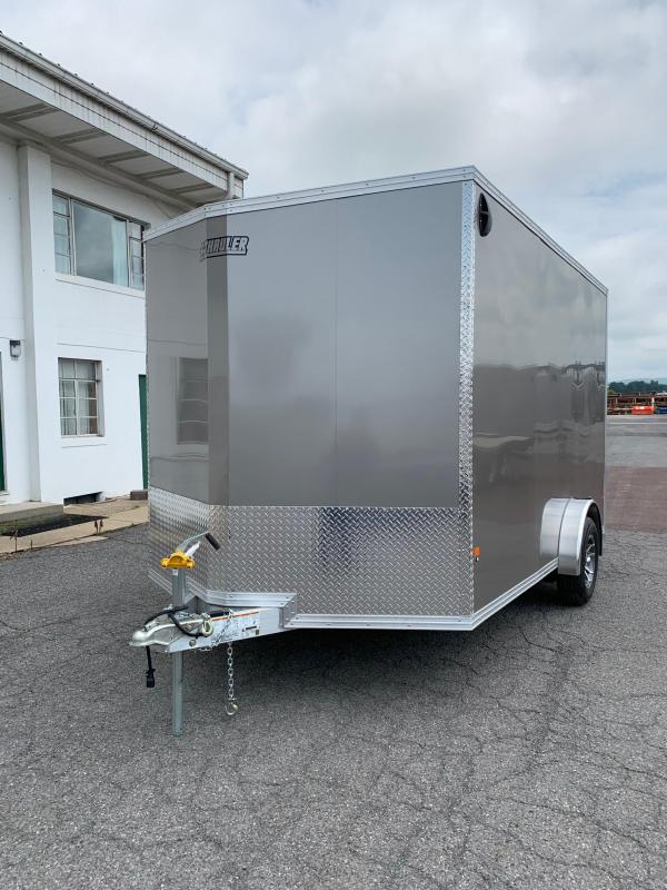2019 Mission 7x12 EZ Hauler Enclosed Cargo Trailer in Ashburn, VA