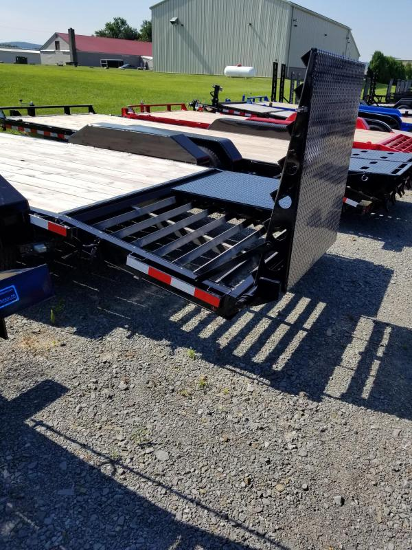 2017 H and H Trailer Industrial 16' + 4' Super Deluxe Bobcat Ramps