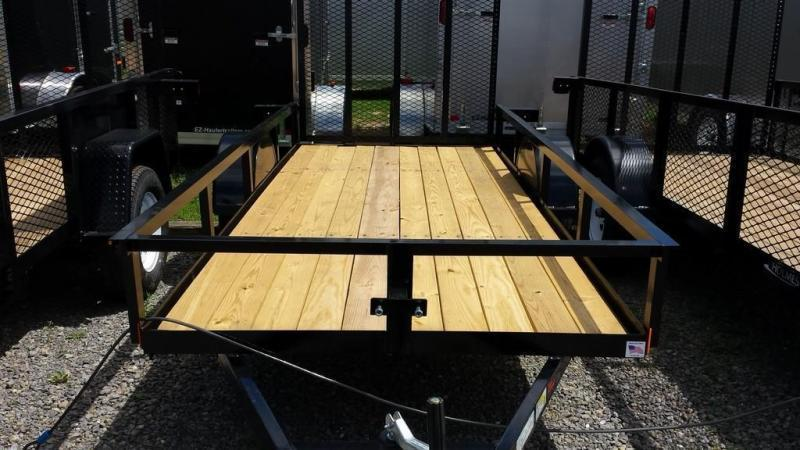 2019 Holmes 5x12 Open Side Rail Utility Trailer