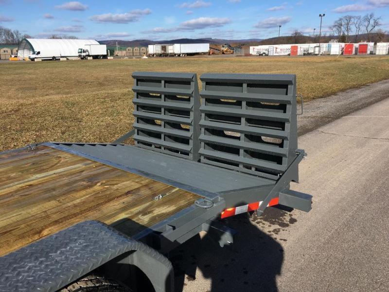 2019 Sure-Trac 7x20 Super Ramp Equipment Trailer