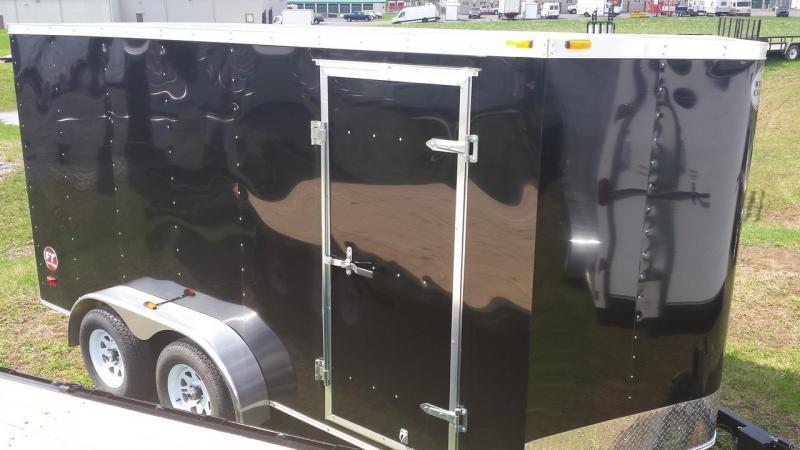 2017 Wells Cargo Fast Trac 7x14 Cargo / Enclosed Trailer