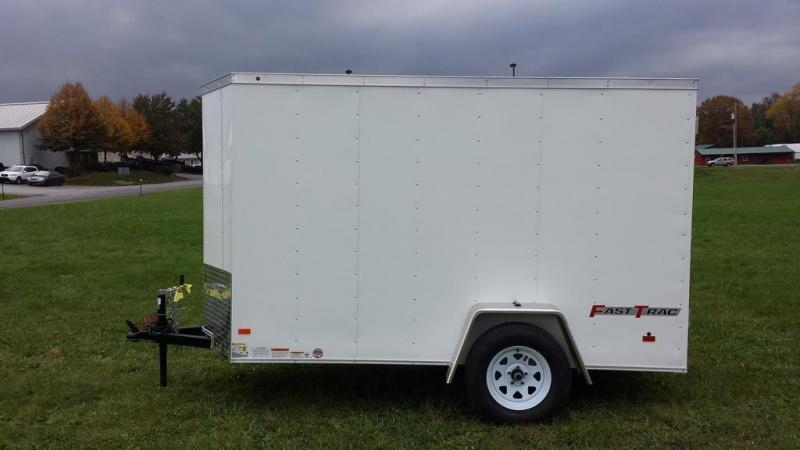 2017 Wells Cargo 5x10 Fast Trac Enclosed Cargo Trailer