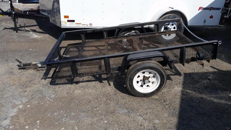 2007 Carry-On 4x7 Open 2K Utility Trailer