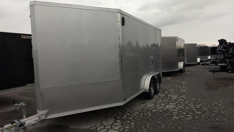 2019 Mission EZES 7.5x14+4 Enclosed Snowmobile Trailer