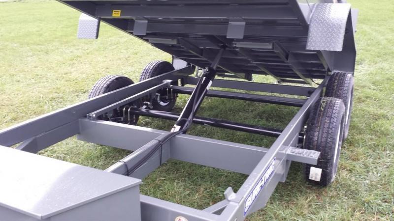 2019 Sure-Trac 6x12 Low Profile Dump Trailer