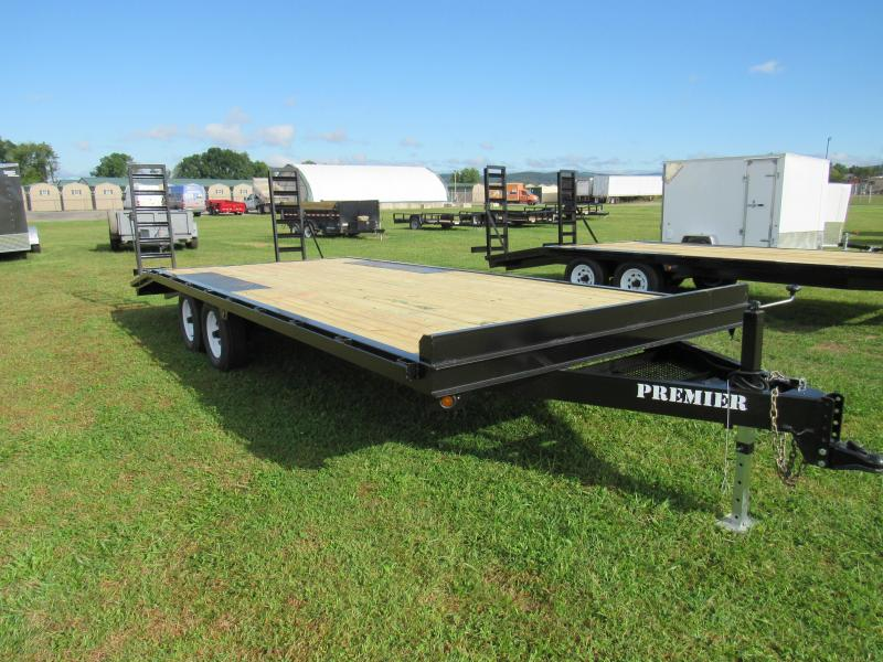 2019 Premier Trailers Inc. 22' (16+4) 10K Deck-Over Equipment Trailer