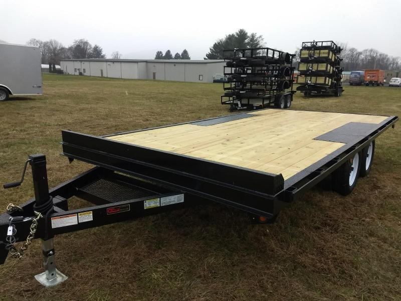 2019 Premier Trailers Inc. 16' 7K Deck-Over Equipment Trailer