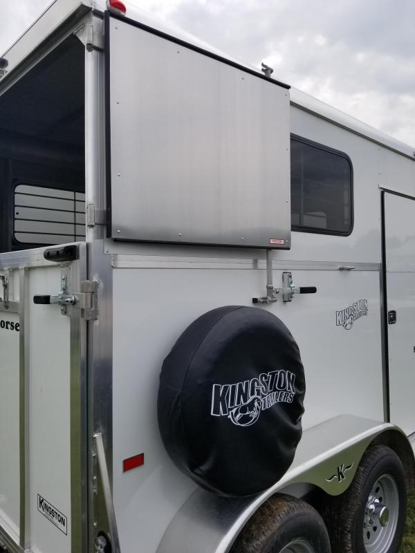 2017 Kingston Trailers Inc. Classic Standard 2 Horse Horse Trailer