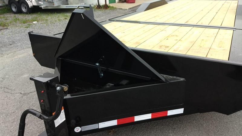 2019 Midsota 7x18+4 17.6K tilt deck wide body Equipment Trailer