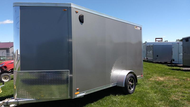 2019 Legend Manufacturing 6x15 all aluminum Enclosed Cargo Trailer