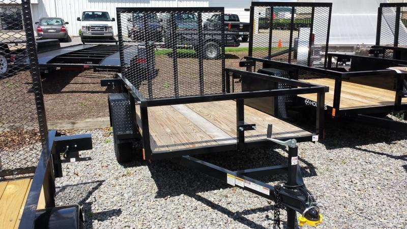 2018 Holmes 5x8 Commercial Open Rail Utility Trailer in Ashburn, VA