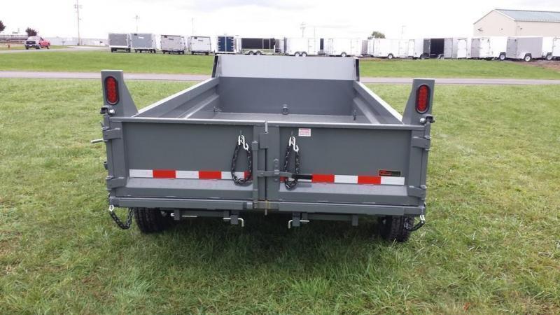 2018 Sure-Trac 6x12 Low Profile Dump Trailer