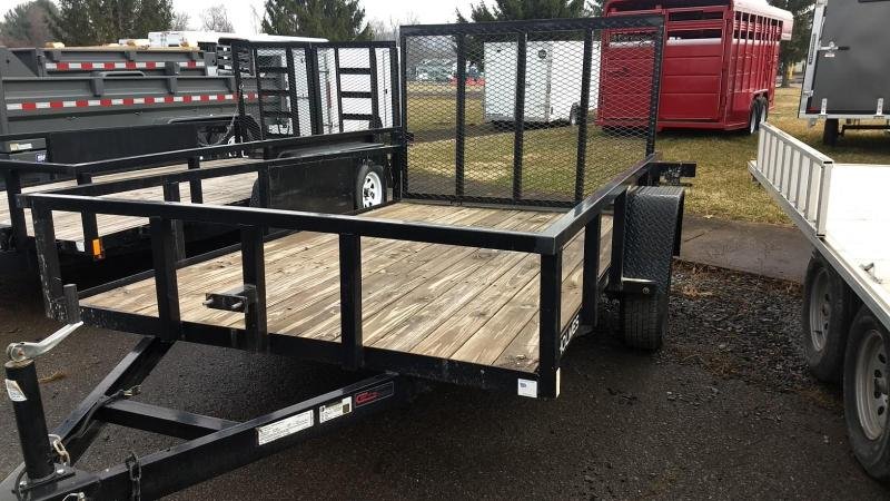 2017 Holmes Commercial 6-4x10 3.5k Utility Trailer