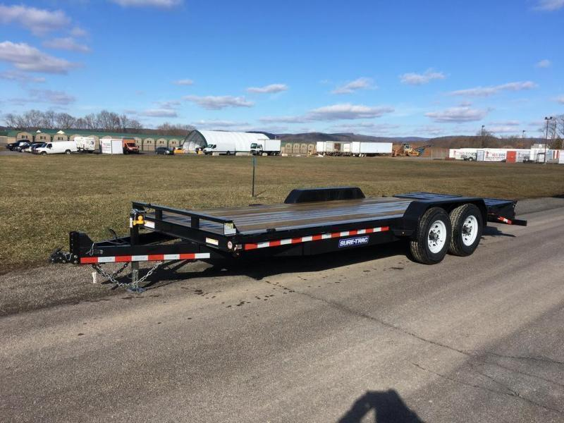 2019 Sure-Trac 7x20 Super Ramp Equipment Trailer in South Sutton, NH