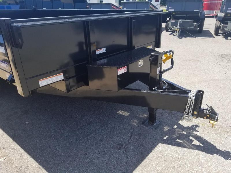 2019 Sure-Trac 96x14 Deckover Dump Trailer