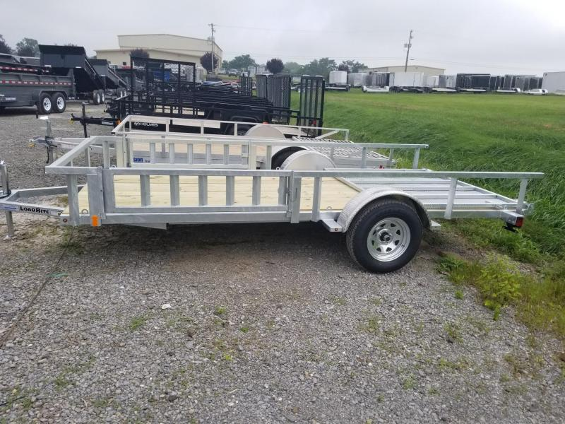 2019 Load Rite 6-5x14 Galvanized Open Side Rail w/ ATV Ramps