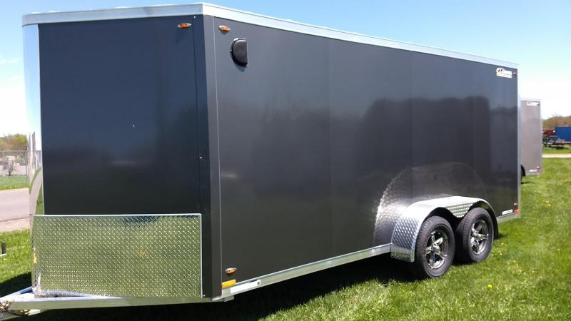 2019 Legend Manufacturing 7x19 all aluminum Enclosed Cargo Trailer