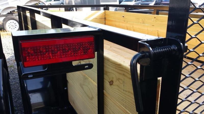 2019 Holmes 5x10 Board Side Utility Trailer
