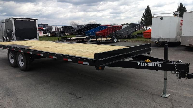 2019 Premier Trailers Inc. 24' 14K Deck-Over Equipment Trailer