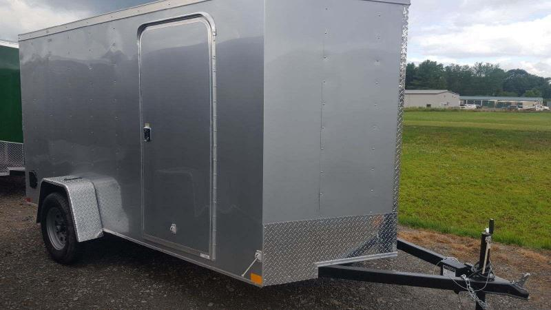 2018 Wells Cargo 300 Series 6x12 WITH BRAKES Enclosed Cargo Trailer