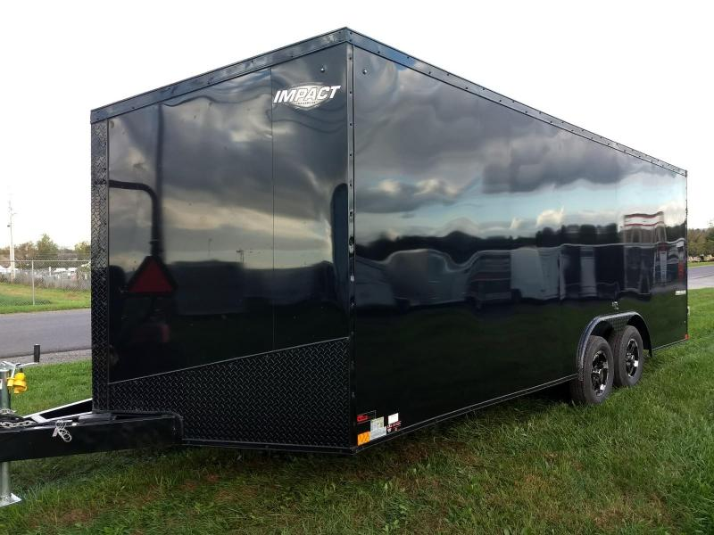 2019 Impact Trailers 8.5x20 7K Slant Nose Car / Racing Trailer in Ashburn, VA