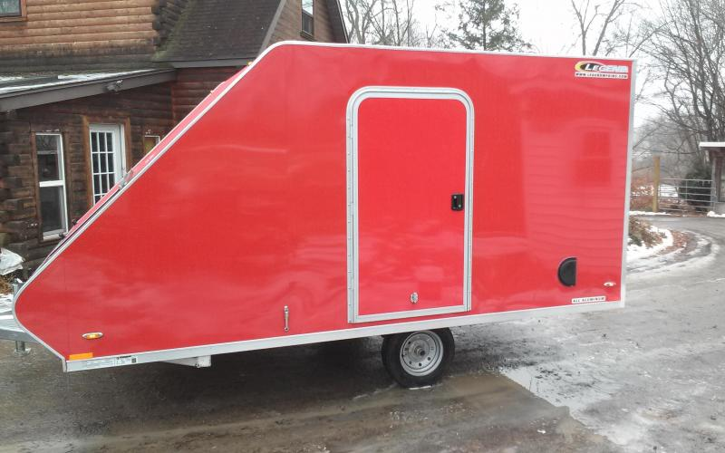 2018 Legend Manufacturing 8.5x13SL Snowmobile Trailer
