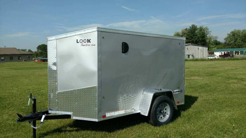 2019 Look Trailers 5x8 Element SE Enclosed Cargo Trailer