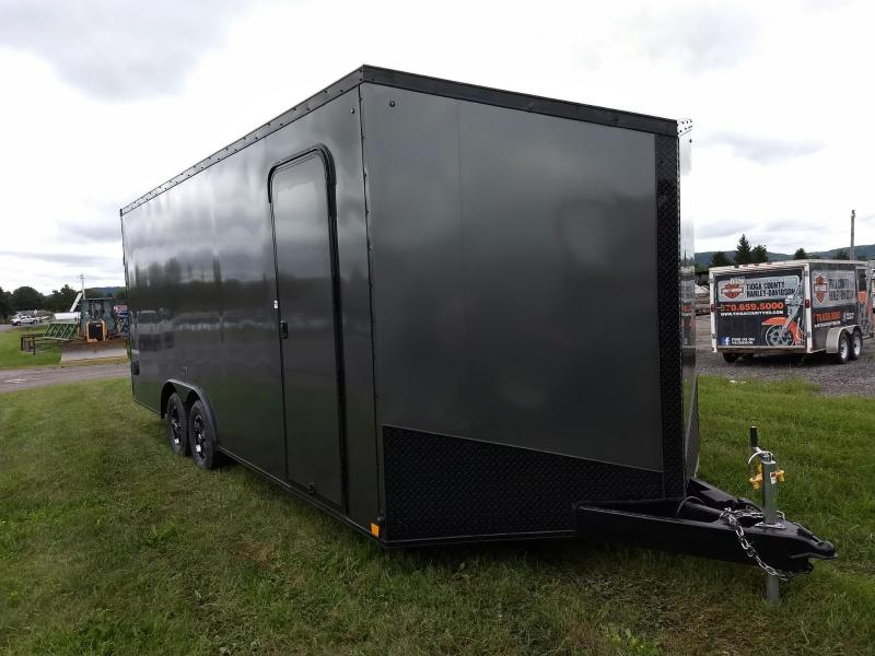 2019 Impact Trailers 8.5x20 7K Slant Nose Car / Racing Trailer
