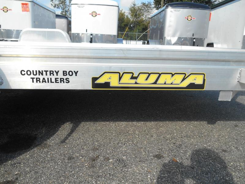 2020 Aluma 6810 BT Utility Trailer