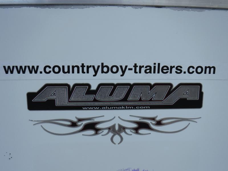 4x6 All Alum. Enclosed 1-1200#