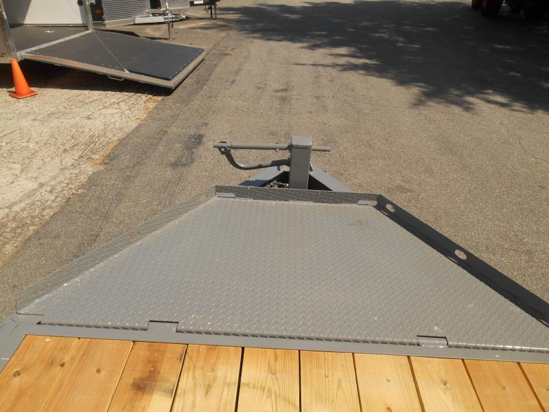 """82""""X20' Tilt 2-7K  Cement Gray"""
