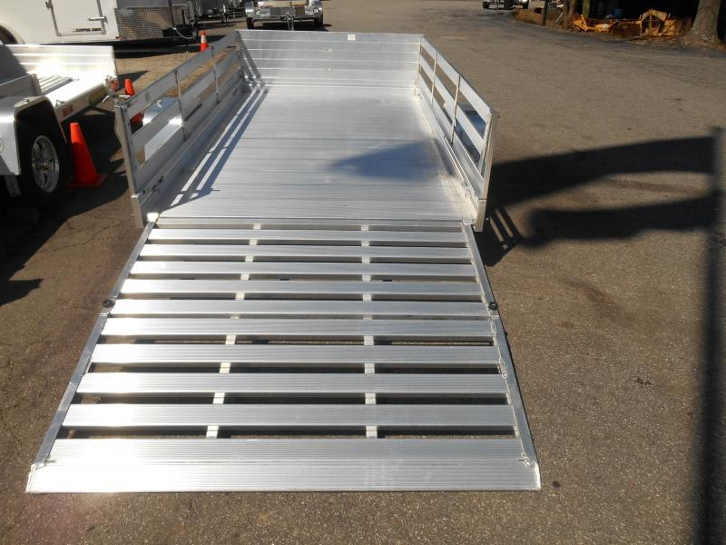 "68""x10' 1-2200# Utility Aluma w/Side Rack Kit"