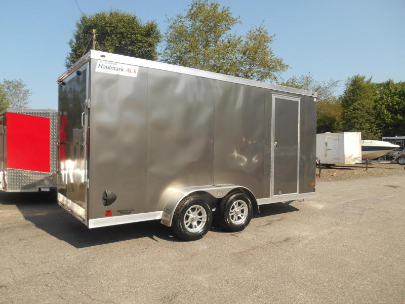 Haulmak All Alum. Enclosed Cargo Trailer