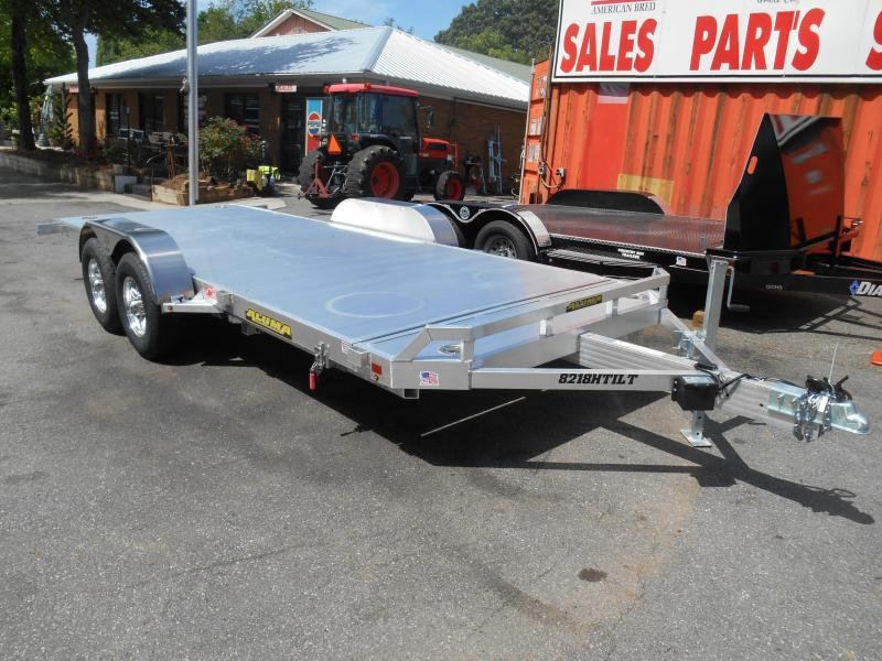 "8220H TILT Car Hauler  (6'10""x18' Bed Tilted) 2-5200# Aluma"