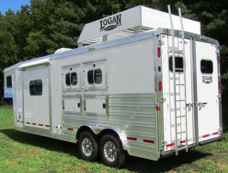 2019 Logan 810 Select Horse Trailer