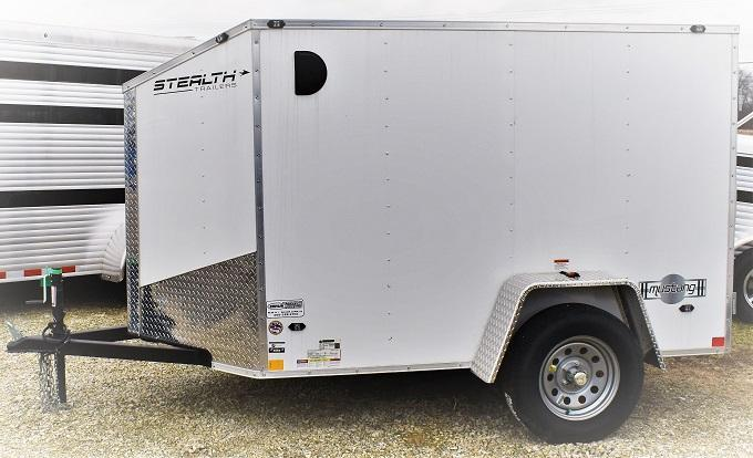 2019 Stealth Trailers 5X8 Mustang Enclosed Cargo Trailer